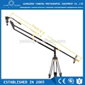 Luxury gold series 2.2m hand-operated portable camera crane for video filming