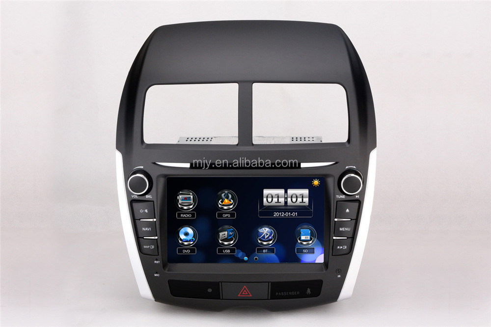 Car DVD supplier from China Digital Touch Screen DVD with GPS OEM car DVD for Year 2013 Mitsubishi ASX