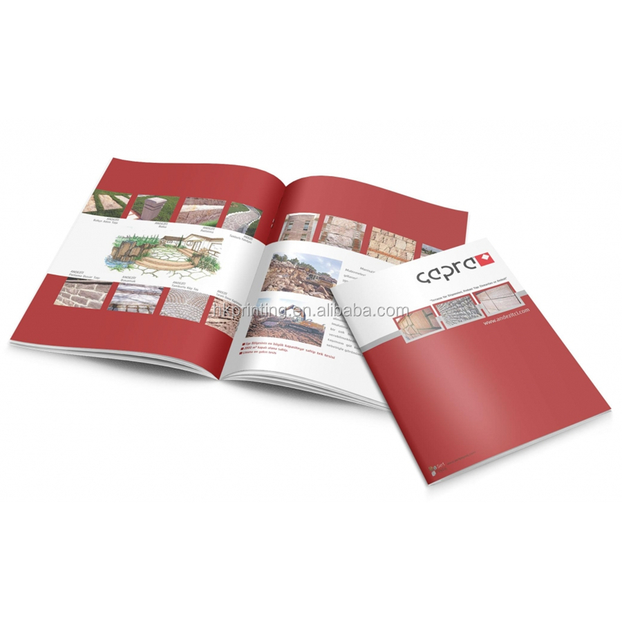 High quality catalog printing OEM welcomed