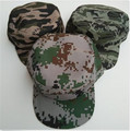 100% cotton camo military cap