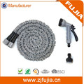 50FT Grey Garden Expandable Hose Strongest Hose With 8 Spray Nozzle As Seen on TV