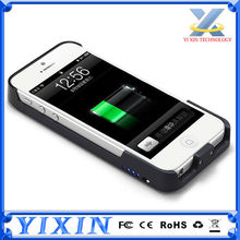 Wholesales 3000mAh Extended External Battery Charger Power Case For iPhone 5 5s Battery Case Cover