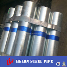 Tubo de acero galvanizado gi steel pipe dn125mm bs1387 Galvanized Iron Pipe