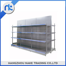 China suppliers supermarket gondola storage shelving