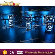 LED light bar furniture cocktail night club table for party