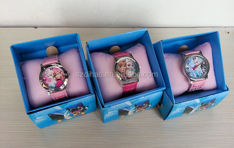 DIHAO Frozen watch Europe and America Hot Selling Frozen Watch Elsa and Anna