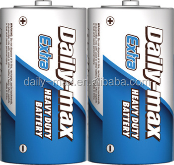 d size R20P heavy duty battery