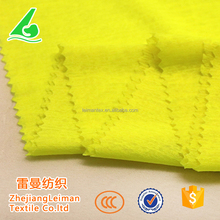 Low cost metallic yarn stock 100%polyester pocket fabric