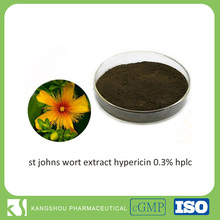 Natural st johns wort extract hypericin 0.3% hplc