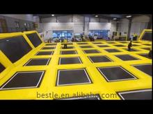 Promotional inflatable bungee trampoline with good elasticity springs with for certificates
