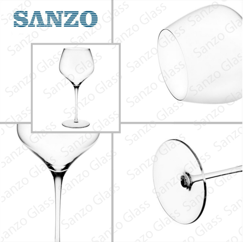 Sanzo High Quality Handmade Crystal Glass Red Wine Glass Cup