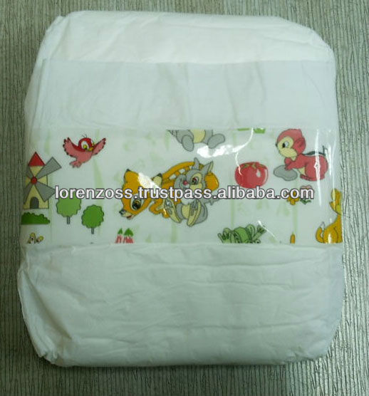 100% Cotton Baby Diapers with High Quality