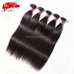 100% pure unprocessed straight hair raw wholesale virgin malaysian hair