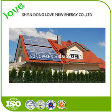 High Efficiency 250W Poly 10kw solar panel system solar panel raw material