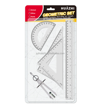 Drawing Compass Set Rulers Bow Compass Stationery Metal Student School Math Geometry Set Drawing Tools