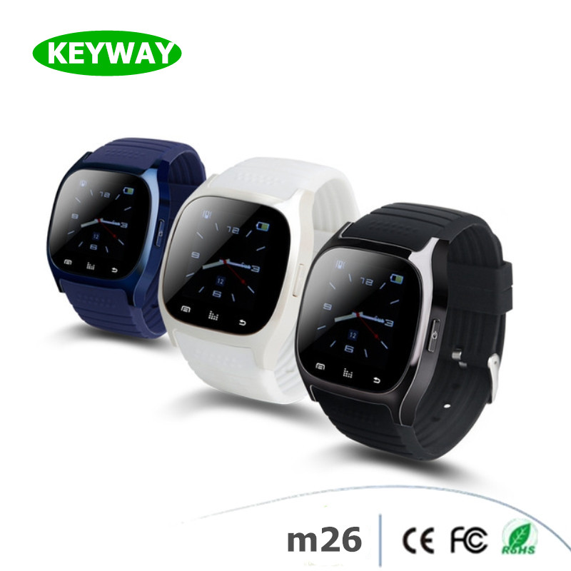 Supper Hot Classic Design Waterproof Bluetooth Wifi M26 Smart Watch For Android IOS Phone
