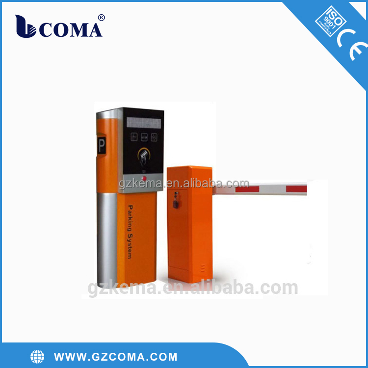 IC card dispenser parking system for entrance and exit