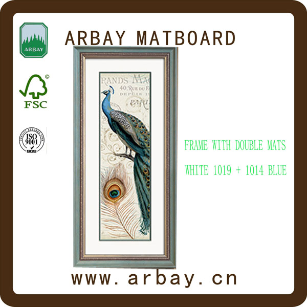 Wholesale collage mat board,beer mat board,pre-cut mat board for photo frame