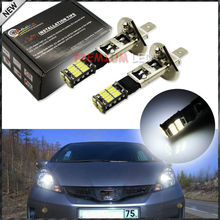 New Style HID Xenon White 26-SMD-4014 H1 LED Replacement Bulbs For Car Fog Lights, Daytime Running Lights, DRL Lamps