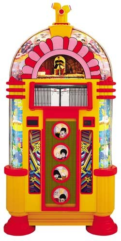 Limited Edition Yellow Submarine Beatles Jukebox