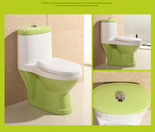 china factory high quality kindergarten kids bathroom wc colorful bady toilet
