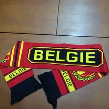 Sport Fan Scarf Banner for Car Customized Football Knitted Scarves