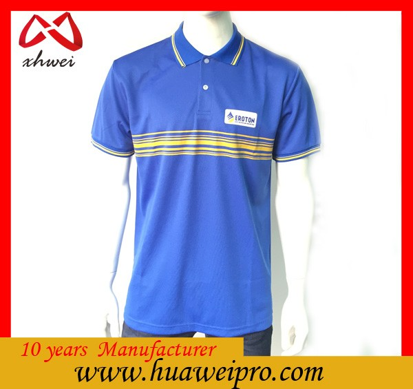 2016 Summer Clothes for Work Polo Shirts OEM Polo Tee Shirts Men