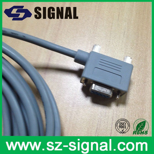 Signal vga 9pin female 90 degree connector