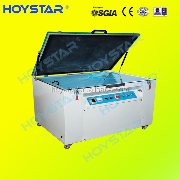 single side vacuum exposure machine for screen printing