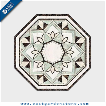 Waterjet mosaic tile water jet marble designs for indoor project