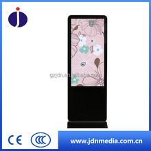 Increative Touchscreen public interactive LCD AD display imformation kiosk price for self service