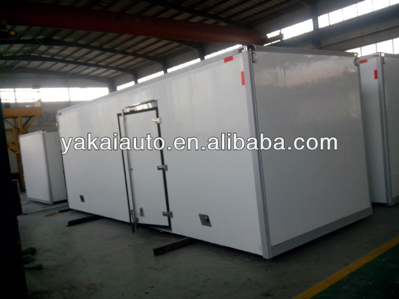refrigerated trailer, trailer body