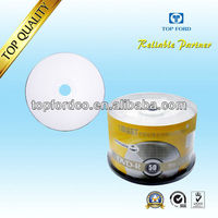 High quality 4.7GB 16X printable DVD+R 2013 new promotion products