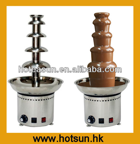 Hot Sale 110v 220v Electric 5 Tiers Party Hotel Commercial Chocolate Fountain