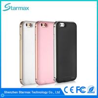 2400mAh Ultra Slim phone charger cover / external battery case for iphone 6s , iphone 6