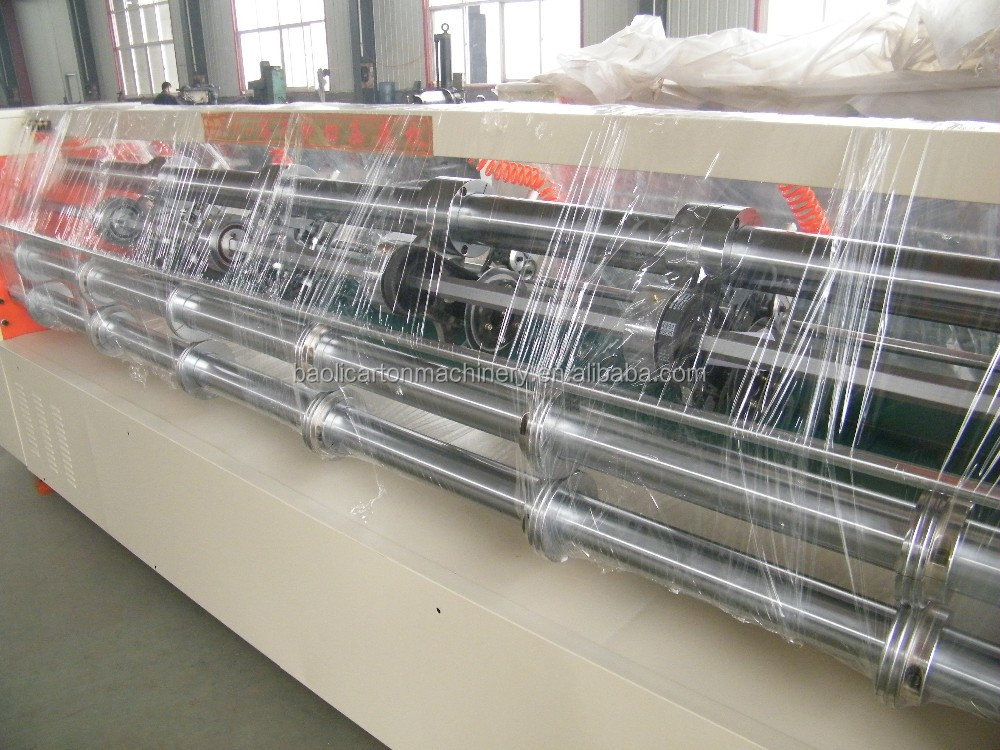 Cangzhou Corrugated paperboard automatic leaving partition machine/corrugated carton box making amchine prices