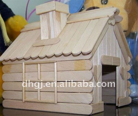 popsicle stick house your Pet paradise