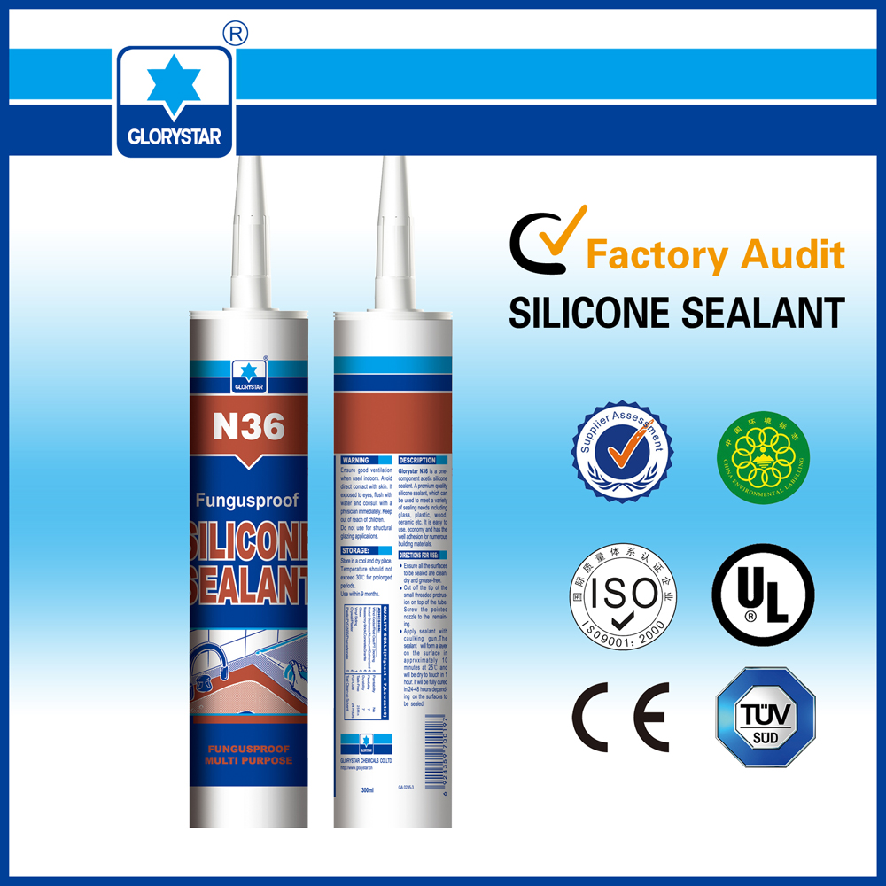 Best selling Neutral Cure Anti-fungus Silicone Sealant