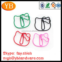 Fashion Hello Kitty Shaped Paper Clips Made in China