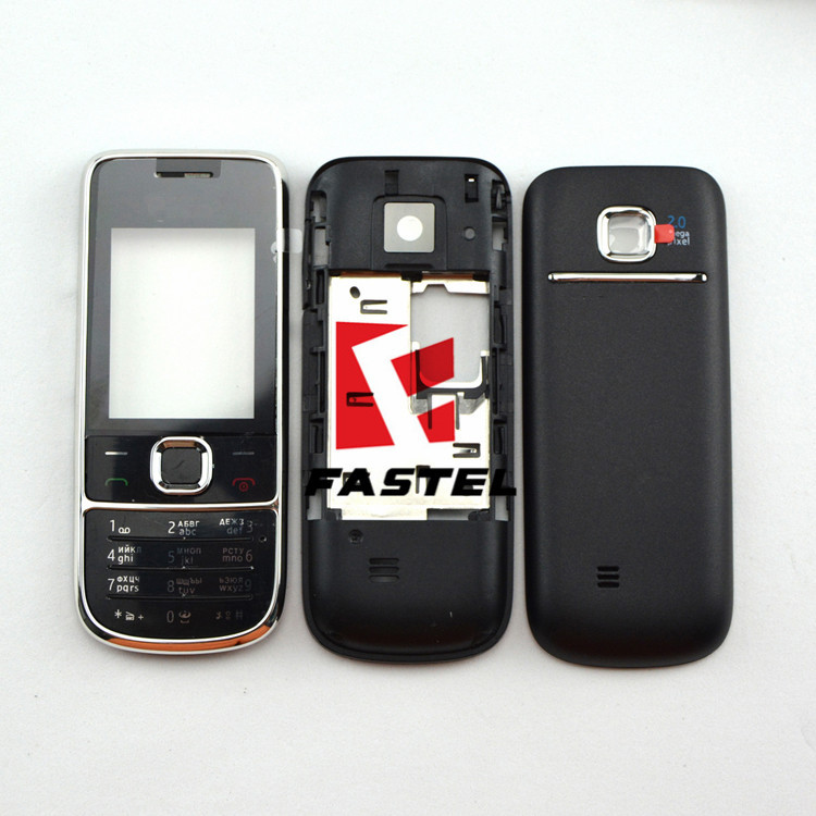 For Nokia 2700c 2700 classic New Full Mobile Phone Housing Cover Case+English or Russian Keypad/Keyboard