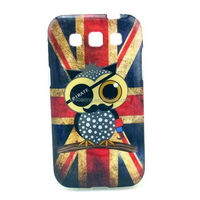 Cool Design UK flag case for Galaxy Win, TPU back cover for Samsung i8552