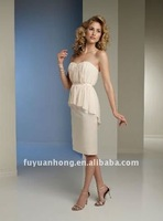 front short long back bodice prom dresses 2012 PQ10