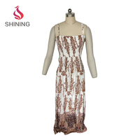 china women clothing manufacturer printed wholesale long sleeve maxi dress beach party dress woman fashion summer european ladie