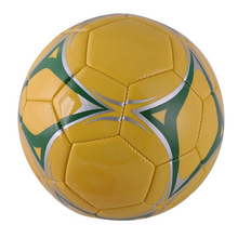 Antique design machine sewing size 5 genuine leather soccer ball,top quality soccer balls