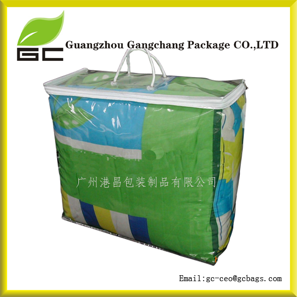 High Quality Wholesale Durable Clear Duvet Storage Bag