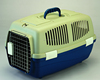 Large size plastic dog flight carrier