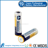 zinc manganese dry battery AA r6 size um3 1.5 v battery