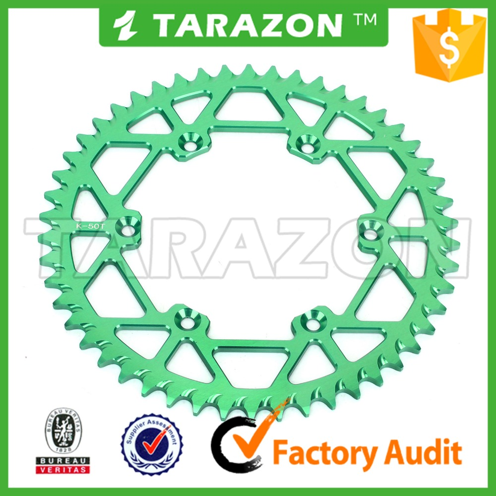 TARAZON brand rear aluminum alloy sprocket for Kawasaki klx 250 450
