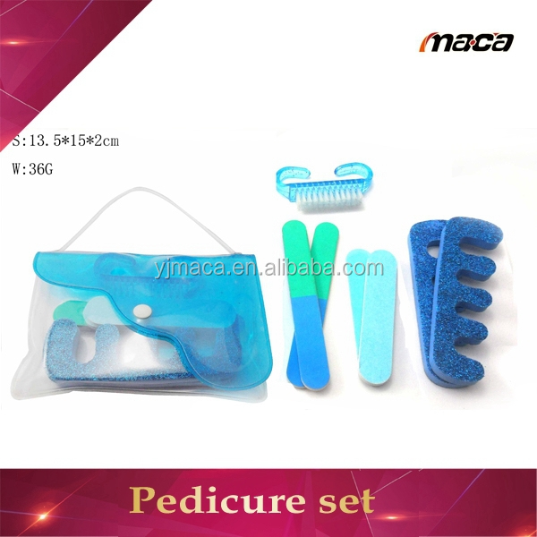 OEM manufacture ladies makeup tools disposable pedicure kit manicure and pedicure set