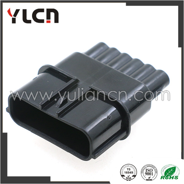 6 way male sumitomo 6188-0658 fuel injector connector/accelerator pedal auto plug for honda